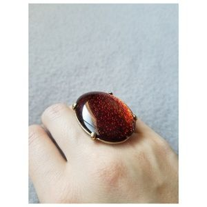 Jewelry - Faux amber ring size 6